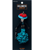 hildie & jo Halloween Doll Pendant-Cat Ana Sofia, , hi-res