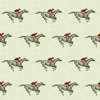 Grey Linen Racer