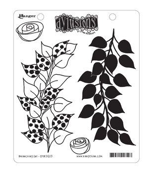 Ranger Dyan Reaveley's Dylusions Cling Stamps Branching Out