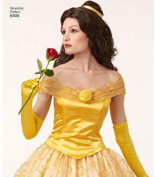 Simplicity Pattern 8406 Misses' Costume-Size H5 (6-8-10-12-14)