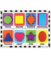 Melissa & Doug Shapes Chunky Puzzle, , hi-res