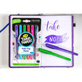 Crayola Take Note! Washable Quick Dry Felt Tip Pen-Assorted Colors 6ct