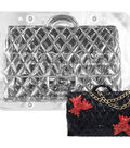 NY Cake Polycarbonate Chocolate Mold-3D Quilted Designer Purse