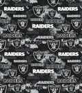 Oakland Raiders Cotton Fabric-Distressed