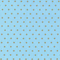 Keepsake Calico Cotton Fabric-Metallic Dots on Blue