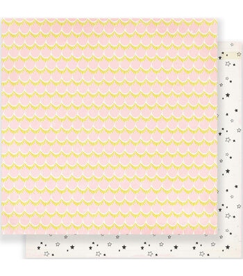 """Maggie Holmes Carousel Double-Sided Cardstock 12""""X12""""-Starbright"""