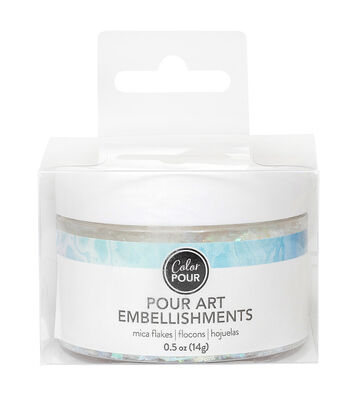 American Crafts Color Pour 0.5 oz. Mica Flakes