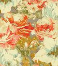 Waverly Upholstery Fabric 54\u0022-Garden Gallery Nectar