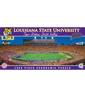 Louisiana State University Master Pieces  Panoramic Puzzle