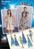 Simplicity Pattern 1157P5 12-14-16-1-Dresses