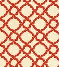 Home Decor 8\u0022x8\u0022 Swatch Fabric-Waverly Kent Crossing Crimson