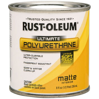 Rust-Oleum Ultimate Polyurethane Clear Matte 8oz