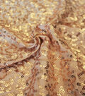 Sequin Fabric 51\u0022-Gold