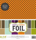 Double-Sided Dots & Stripes Foil 12\u0022X12\u0022-Assorted Combos