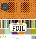 Double-Sided Dots & Stripes Foil 12\u0022X12\u0022-Assorted Combos