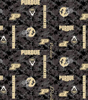 "Purdue University Boilermakers Fleece Fabric 43""-Digital, , hi-res"
