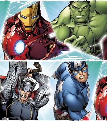 Marvel Avengers Stripe Ctn