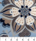 Anti-Pill Fleece Fabric -Serene Large Floral