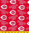 Cincinnati Reds Cotton Fabric -Logo