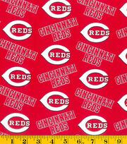 Cincinnati Reds Cotton Fabric -Logo, , hi-res