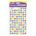 Paw Prints superSpots Stickers 800 Per Pack, 12 Packs
