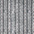 Anti-Pill Plush Fleece Fabric-Pink Gray Geo