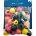 Wood Beads Asst