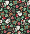 Christmas Cotton Fabric-Christmas Cookies
