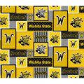 Wichita State Shockers Fleece Fabric-Patch