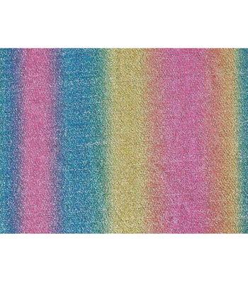 Glitterbug Foil Polyester Fabric 51''-Unicorn