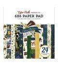Echo Park Double-Sided Paper Pad 6\u0022X6\u0022-Adventure Awaits, 12 Designs
