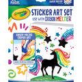 Crayola Crayon Melter Accessory Pack-Sticker Art 20/Pkg