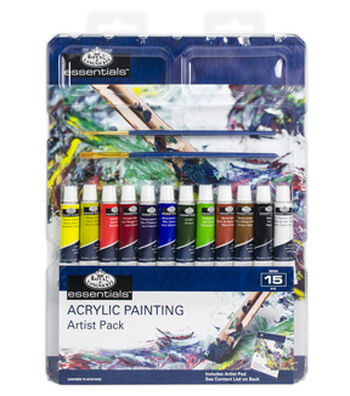 Royal Langnickel Acrylic Paint Artist Pack