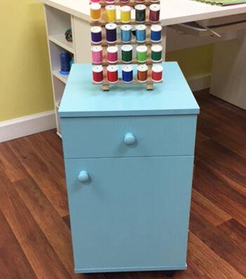 Arrow Suzi Sewing Storage Cabinet- Blue