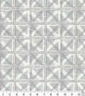 Waverly Upholstery Fabric 13x13\u0022 Swatch-Squared Away Fossil