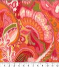Anti-Pill Fleece Fabric 62\u0022-Madison Paisley