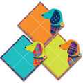 Eureka Paper Cut-Outs-Plaid Dogs