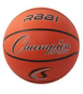 Champion Sports Offical Size Rubber Basketball, Orange, Pack of 2