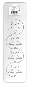 Stencil Star Border 4 In X 14 In