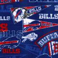 Buffalo Bills Fleece Fabric -Retro
