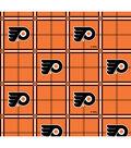 Philadelphia Flyers Flannel Fabric 44\u0022-Plaid