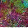 Legacy Studio Batik Cotton Fabric -Mums Rainbow