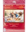 RIOLIS 23.5\u0027\u0027x15.75\u0027\u0027 Counted Cross Stitch Kit-Russian Hunting