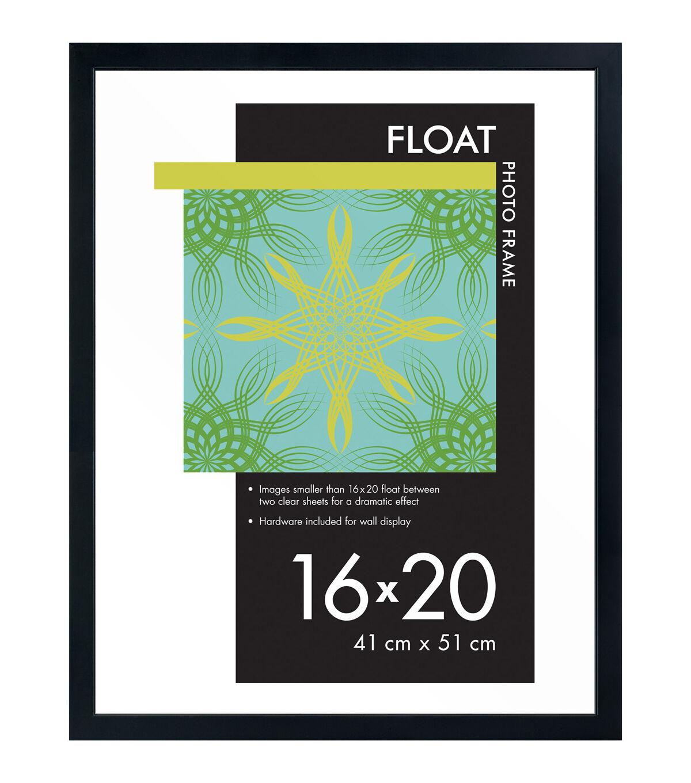 Wood Float Photo Frame.