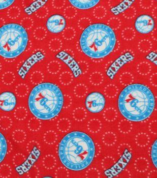 Philadelphia 76ers Fleece Fabric -Logo Toss