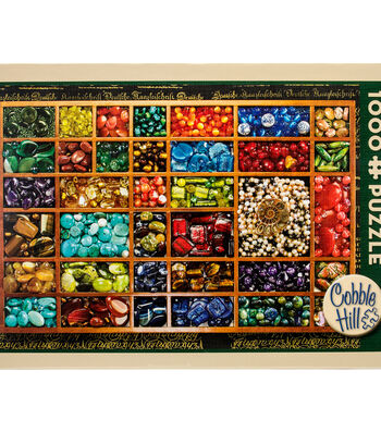 "Jigsaw Puzzle 1000 Pieces 19.2""X27""-Bead Tray"