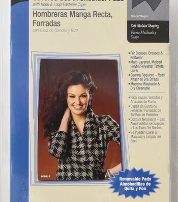 "Dritz 1/2"" Covered Set-In Shoulder Pads"