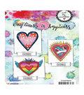 Art By Marlene 2.0 Hearts Cling Stamp-Polka Dot Heart