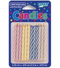 Magic Relight 2-1/2\u0022 Birthday Candles-12PK