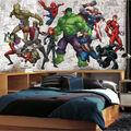 York Wallcoverings Prepasted Mural-Marvel Hero XL Chair Rail